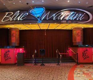 blue martini at bally's